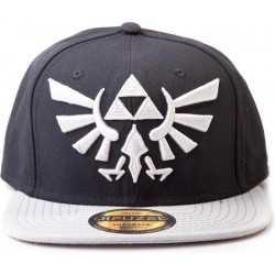 Zelda Twilight Princess - Cap with Grey Triforce Logo