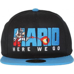 Super Mario Here We Go Snapback