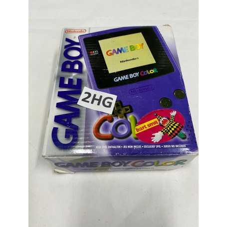 Game Boy Color Purple Boxed