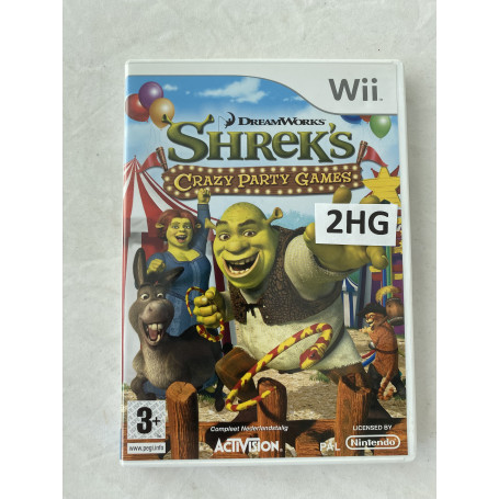 Shrek's Crazy Party Games