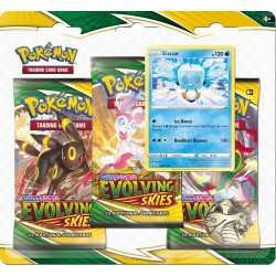 Pokémon Evolving Skies 3 Pack Blister - Eiscue