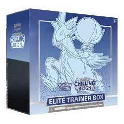 Chilling Reign Elite Trainer Box: Ice Rider Calyrex