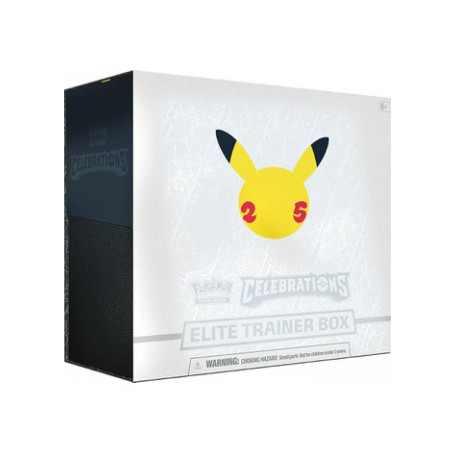 Pokémon Celebrations Elite Trainer Box - Pre Order - Verzending Maandag 1 November