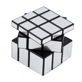 Mirror 3x3 kubus Zilver