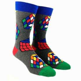 Kubus sokken grijs