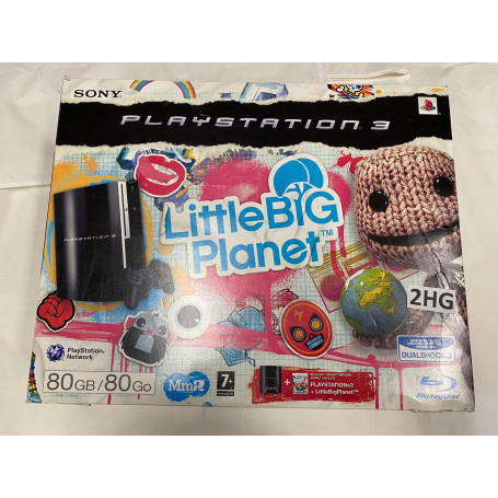 Playstation 3 Phat 80GB Little Big Planet Edition