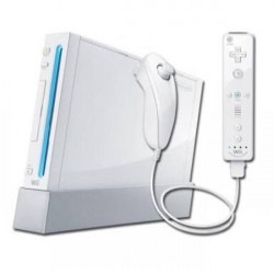 Wii Console Wit incl. Controller en Nunchuck