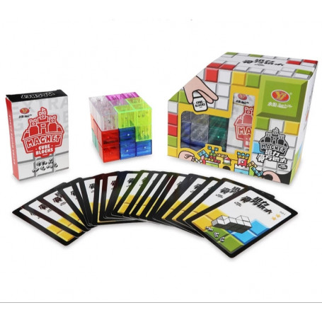 Magnetische Puzzel Kubus Transparant