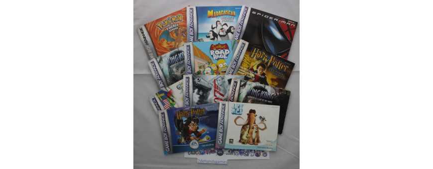 Game Boy Advance Boekjes