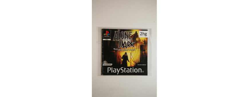 Playstation 1 Boekjes