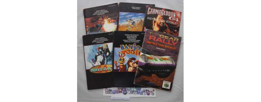 Nintendo 64 Boekjes