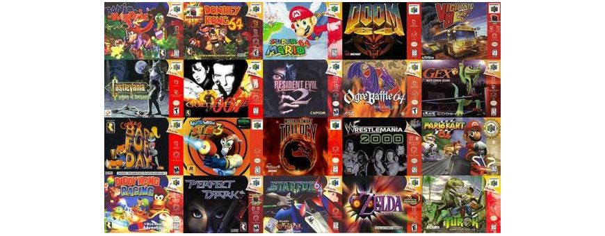Nintendo 64 Games (Partners)