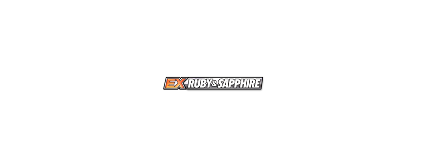 Pokémon EX Ruby & Sapphire Series