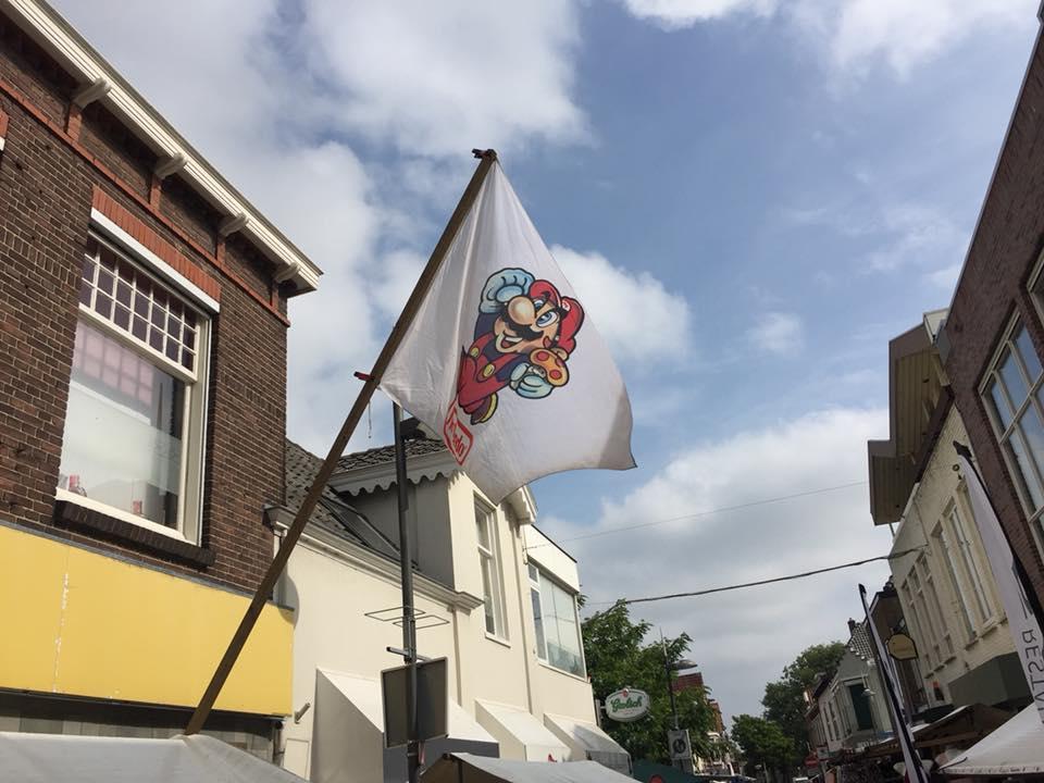 Onze Mario vlag
