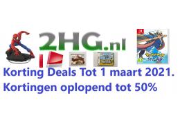 Kortingen pakken bij 2HG nl