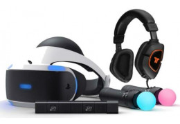 Playstation 4 VR is hot
